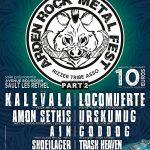 [Festival] ARDEN ROCK  METAL FEST (PART 2) – 08 et 09 octobre 2016