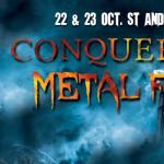 [Festival] CONQUERANT METAL FEST – 22 et 23 octobre 2016