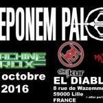 [Concert]  HEUREUSEMENT IL Y A L' INDUS FESTIVAL – 15 octobre 2016