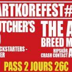 [Concert] ART'KORE FEST I – Pont-Réan (35) 21/22 avril 2017
