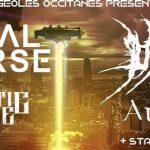 [Report] FRACTAL UNIVERSE / RED DAWN/ PROPHETIC SCOURGE / AURIGA Toulouse-Usine à Musique-25Mars 2018