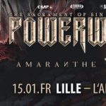[Report] Kissin'Dynamite + Amaranthe + Powerwolf @Aéronef, Lille le 15/01/2019