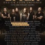 """[News] Epica en tournée pour les 10 ans de """"Design Your Universe"""""""